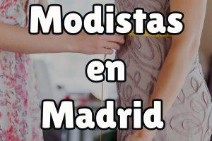 Te mostramos las mejores modistas en Madrid