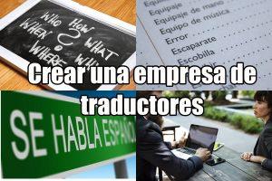 Cómo montar una empresa de traductores