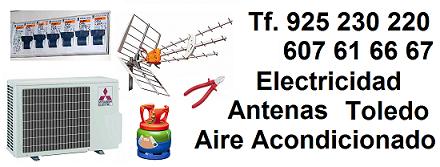 Electricidad Aire Acondicionado Antenas Toledo
