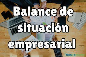 Descubre los puntos más importantes del balance de situación de una empresa.