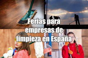 Ferias para empresas de limpieza en España