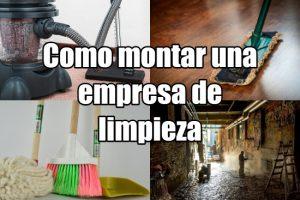 Cómo montar una empresa de limpieza
