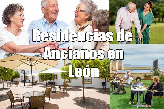 Residencias de ancianos en León