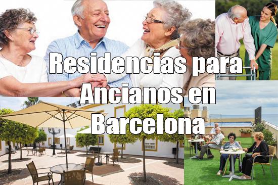 Residencias para ancianos en Barcelona