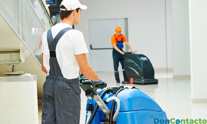 Empresas de limpieza que usan los materiales adecuados