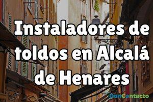 Instaladores de toldos en Alcalá de Henares