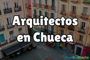 Arquitectos en Chueca