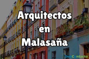 Arquitectos en Malasaña