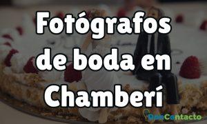 Fotógrafos de boda en Chamberí