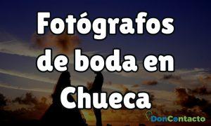 Fotógrafos de boda en Chueca