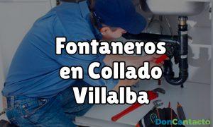 Fontaneros en Collado Villalba