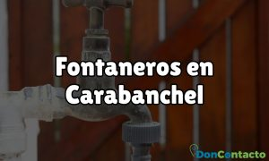 Fontaneros en Carabanchel
