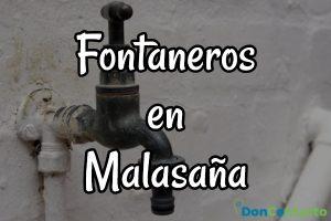 Encuentra en DonContacto a los mejores fontaneros de Malasaña.