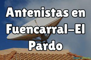 Antenistas en Fuencarral-El Pardo