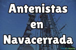 Antenistas en Navacerrada