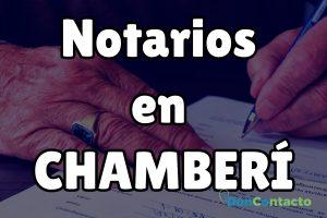 Notarios en Chamberí