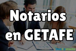 Notarios en Getafe