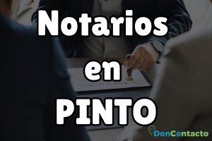 Notarios en Pinto
