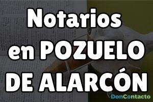 Notarios en Pozuelo de Alarcón