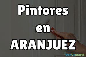 Pintores en Aranjuez