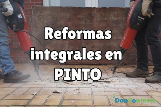 reformas integrales en Pinto