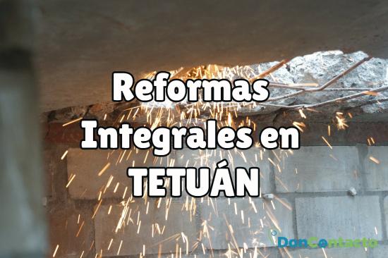 reformas integrales en Tetuán