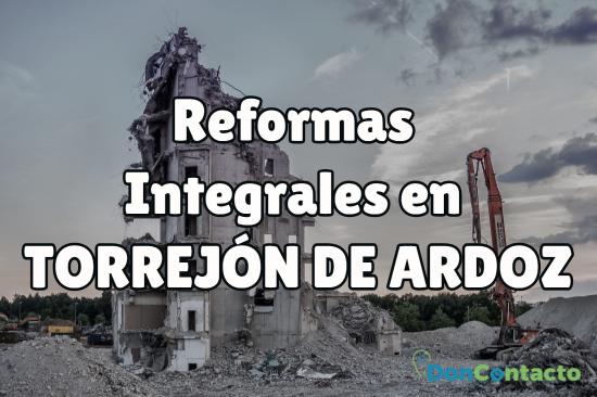 reformas integrales en Torrejón de Ardoz