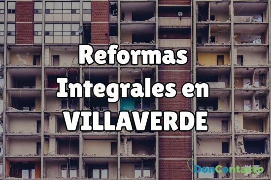 reformas integrales en Villaverde