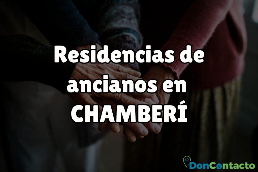 Residencias de ancianos en Chamberí