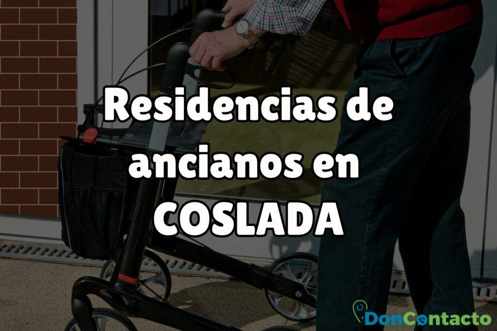 Residencias de ancianos en Coslada