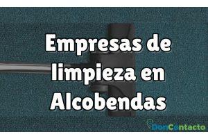 Empresas de limpieza en Alcobendas