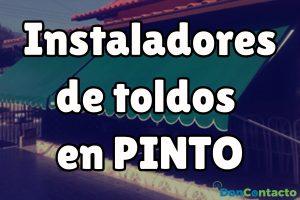 Instaladores de toldos en Pinto
