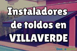 Instaladores de toldos en Villaverde