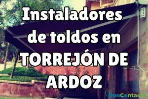 Instaladores de toldos en Torrejón de Ardoz