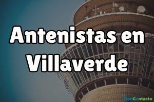 Antenistas en Villaverde