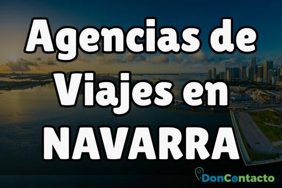 Agencias de Viajes en Navarra