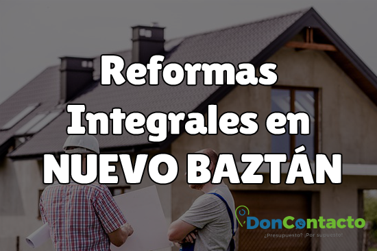 Reformas integrales en Nuevo Baztán