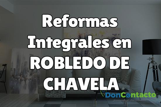 Reformas integrales en Robledo de Chavela