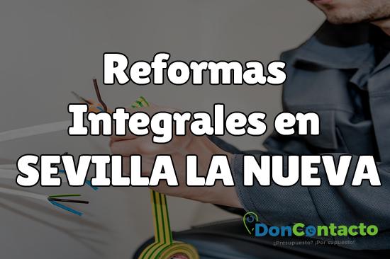Reformas integrales en Sevilla la Nueva