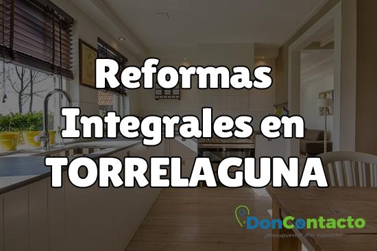 Reformas integrales en Torrelaguna