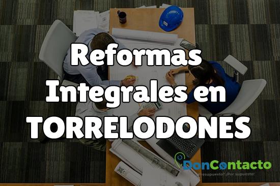 Reformas integrales en Torrelodones