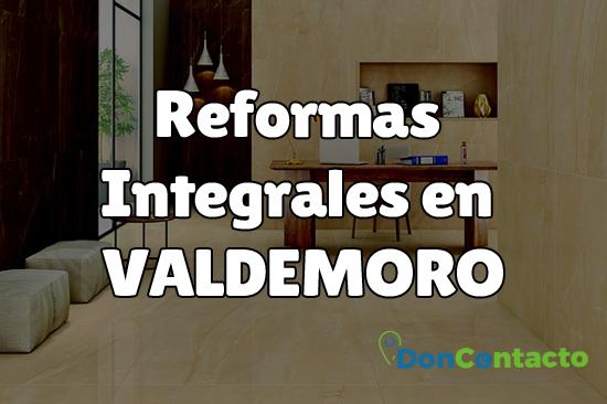 Reformas integrales en Valdemoro