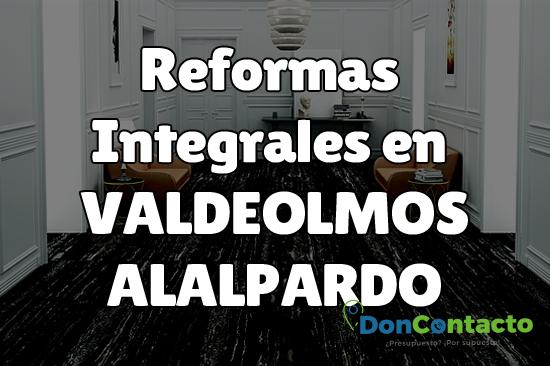 Reformas integrales en Valdeolmos-Alalpardo