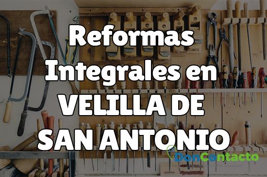 Reformas integrales en Velilla de San Antonio