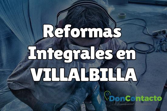 Reformas integrales en Villalbilla