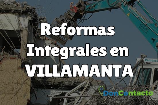Reformas integrales en Villamanta