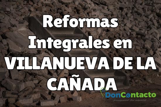 Reformas integrales en Villanueva de la Cañada