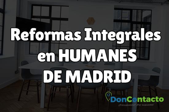 Reformas integrales en Humanes en Madrid