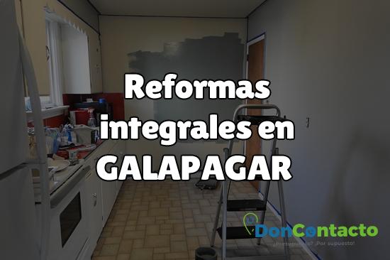 Reformas integrales en Galapagar