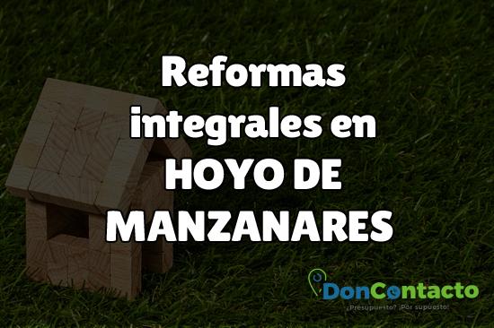 Reformas integrales en Hoyo de Manzanares